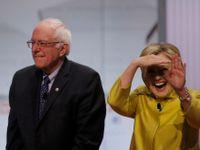Živě: Sanders se opovážlivě navezl do Baracka Obamy. Hillary Clintonová se může smát nahlas