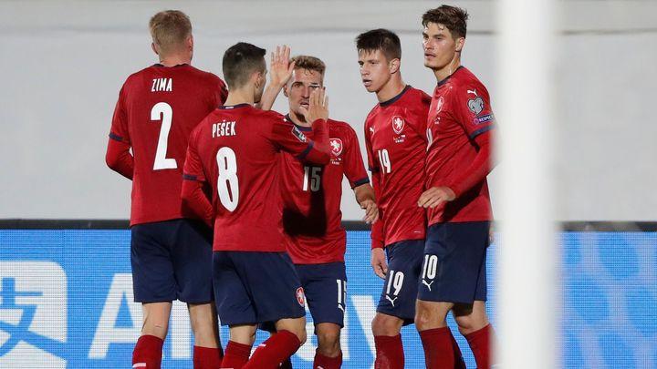 Bělorusko - Česko 0:2. Češi zvládli šichtu v Bělorusku. Trefili se Schick a Hložek; Zdroj foto: Reuters