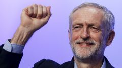 Jeremy Corbyn File photo of the new leader of Britain's opposition Labour Party Corbyn acknowledging applause after addressing the Trade Union Congress (TUC) in Brighton in southern England