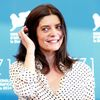 "Actress Mastroianni poses during the photo call for the movie ""3 Coeurs"" at the 71st Venice Film Festival"
