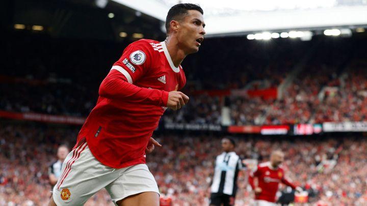 Tak se vrací král. Ronaldo dvěma góly nasměroval Manchester United k vítězství; Zdroj foto: Reuters