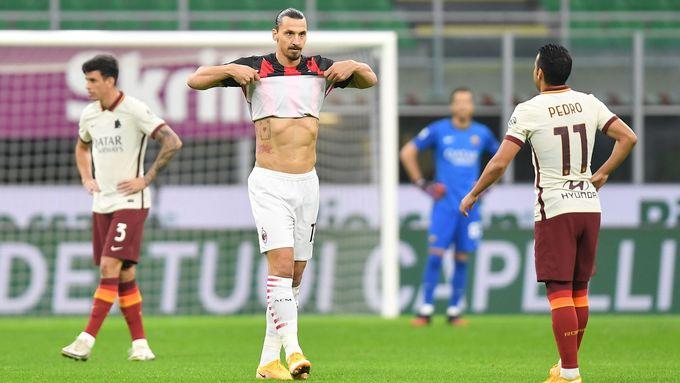 Ibrahimovic na vše nestačil. AC Milán před zápasem se Spartou ztratilo poprvé body