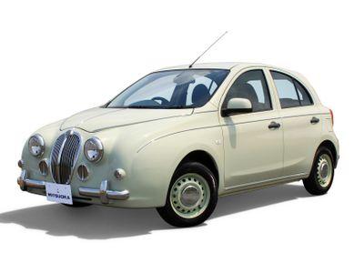 Mitsuoka vyrábí nejdivnější auta na světě. Z Nissanu dokáže udělat Jaguar nebo Rolls-Royce