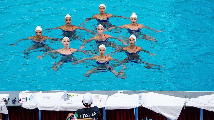 39 fotek, které osvěží: Slunce, krása a azurová voda na mistrovství Evropy akvabel
