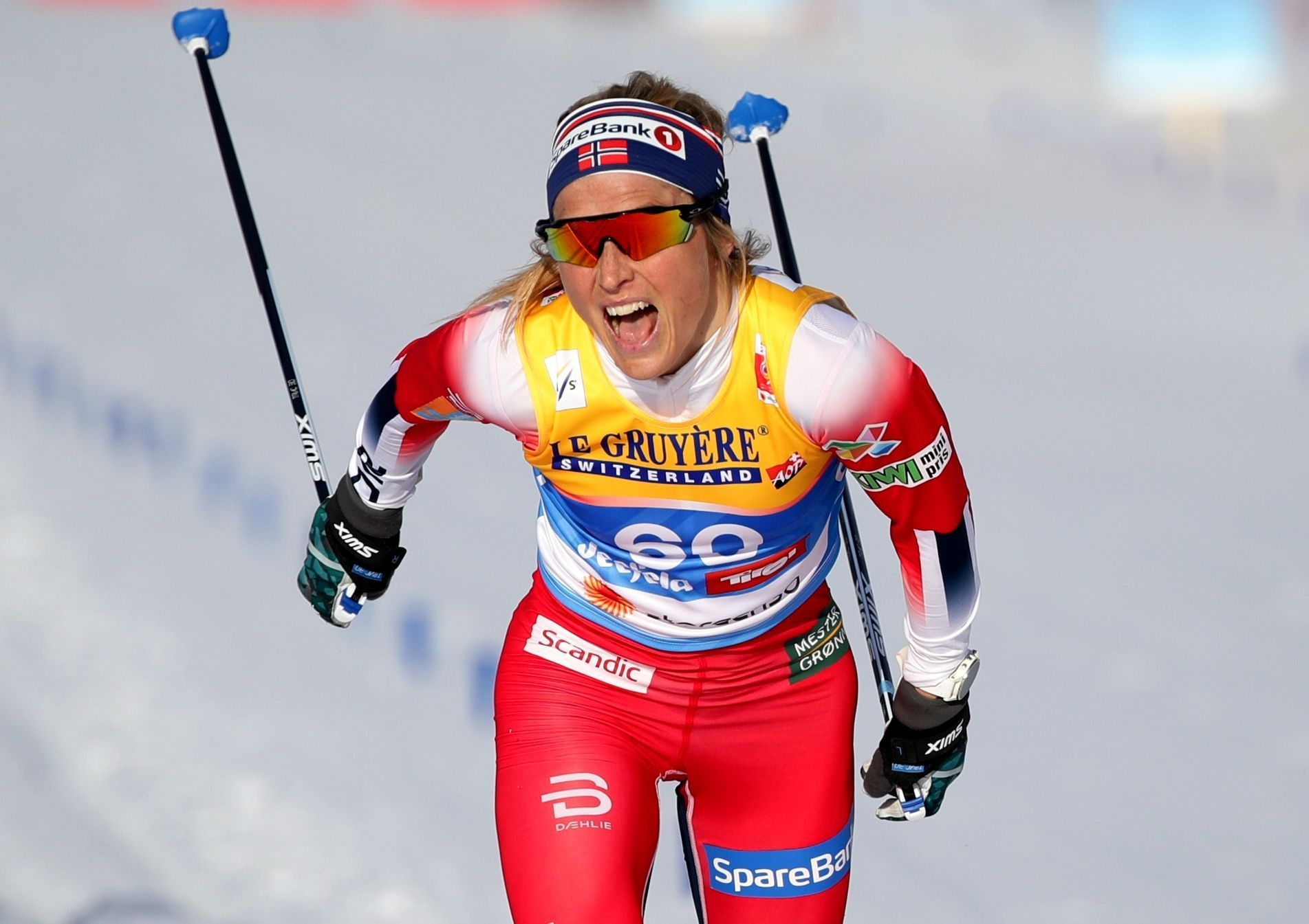 Therese Johaugová na MS 2019