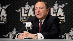 2017 NHL All Star Game: Gary Bettman
