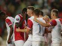 Jeden gól stačil. Zmrhal parádní ranou vystřelil Slavii vítězství nad Bordeaux