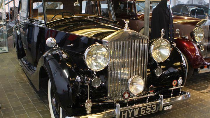 Vzácné vozy Rolls-Royce jsou k vidění v pražském muzeu
