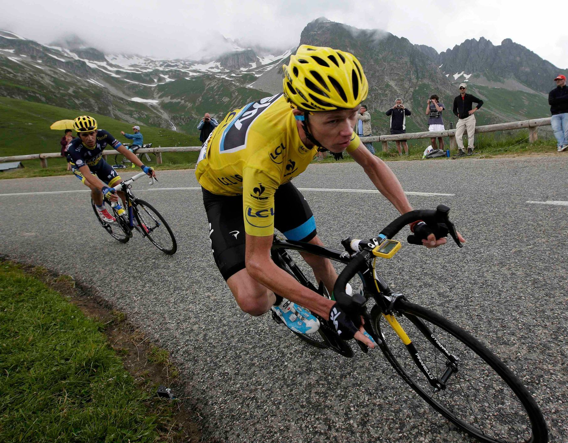 Christopher Froome na Tour de France 2013