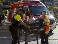 Online: Počet obětí teroristických útoků ve Španělsku stoupl na 14.  Útočník z Barcelony je na útěku