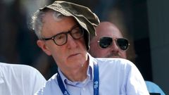 Woody Allen na US Open 2014