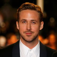 "Director Ryan Gosling poses on the red carpet as he arrives for the screening of the film ""Lost River"" in competition for the category ""Un Certain Regard"" at the 67th Cannes Film F"