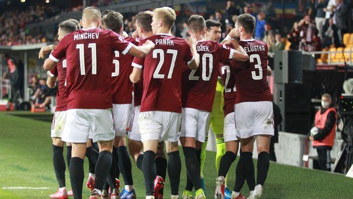Už nás všichni začnou brát vážně, věří Vrba po výhře v derby; Zdroj foto: Milan Kammermayer