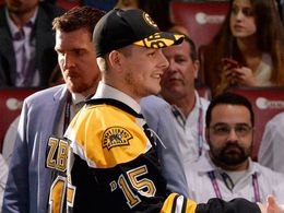 Draft NHL 2015: Jakub Zbořil a Jake Debrusk, Boston Bruins