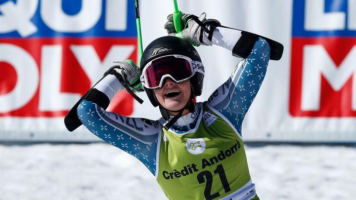 Robinsonová vyhrála po Söldenu obří slalom i v Kranjské Goře