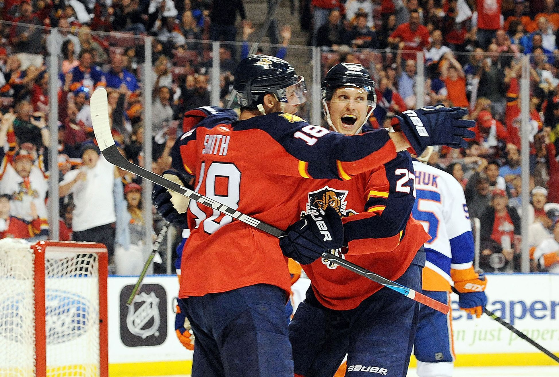 NHL play-off: Florida Panthers vs New York Islanders