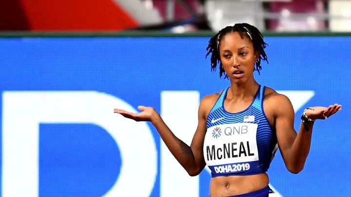 Olympijská šampionka Rollinsová-McNealová dostala pětiletý trest za doping; Zdroj foto: Reuters