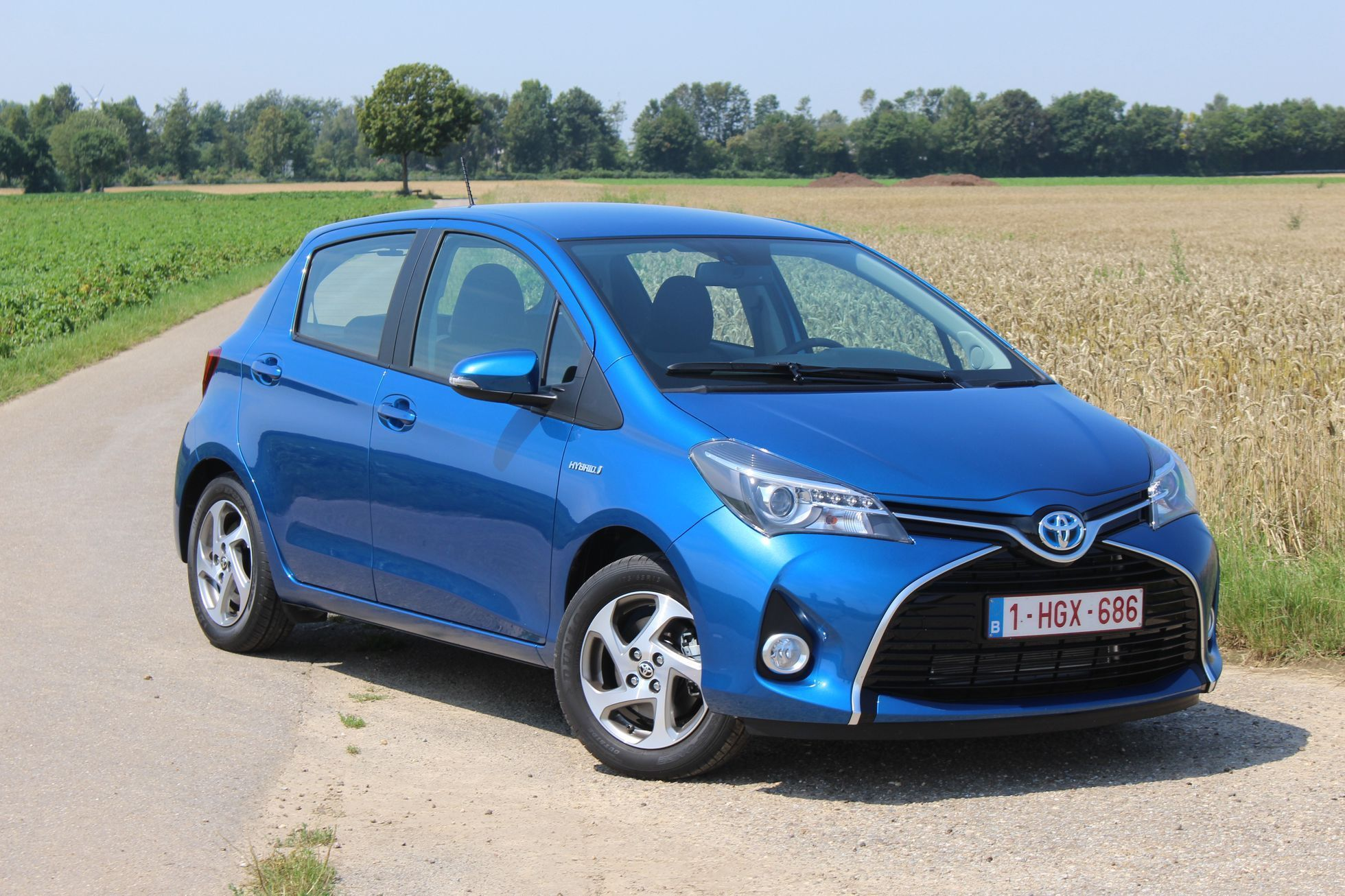 Toyota Yaris facelift 2014