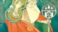 Czech art nouveau artist Mucha exhibited in Vienna