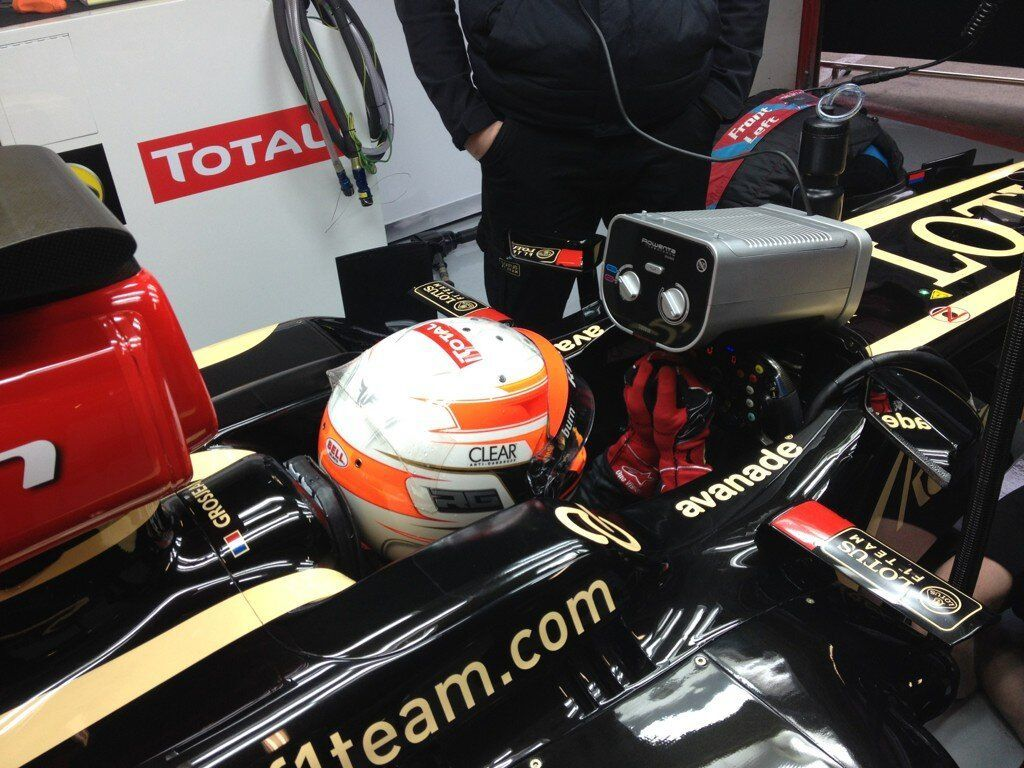 Formule 1: Romain Grosjean, Lotus