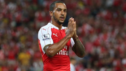 Finále  Asia Trophy, Arsenal-Everton: Theo Walcott (Arsenal)