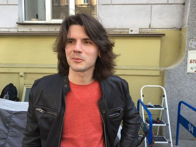 Aktivista Dmitrij Belobrov