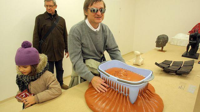 Foto: Dotýkejte se prosím! Výstava moderního umění nejen pro nevidomé