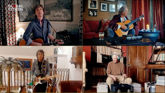 Rolling Stones na koncertu One World zahráli skladbu You Can't Always Get What You Want.