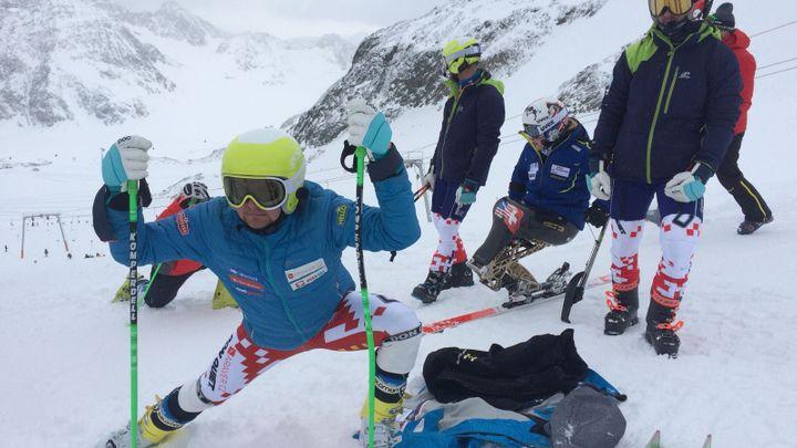 Čeští lyžařští reprezentanti se naladili na paralympiádu. Na mistrovství republiky vítězili