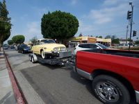 V Los Angeles si daly sraz staré tatrovky, byl u toho i slavný moderátor Jay Leno