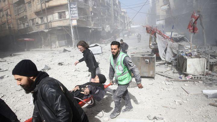 Nálety syrské armády zabily od neděle 190 lidí z Ghúty, včetně desítek dětí