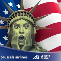 Brussels Airlines - New York, logo